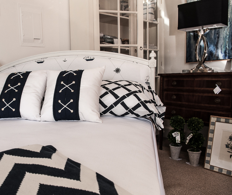 Country Swedish Gustavian Beds and Headboards