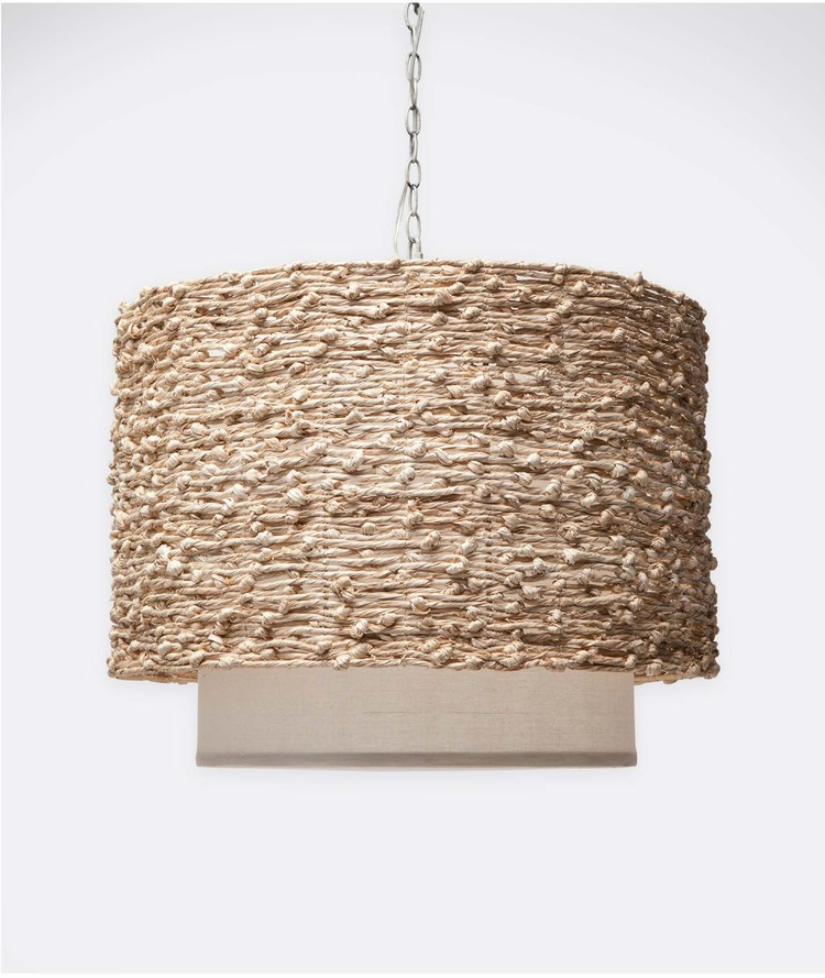 Seagrass Chandelier