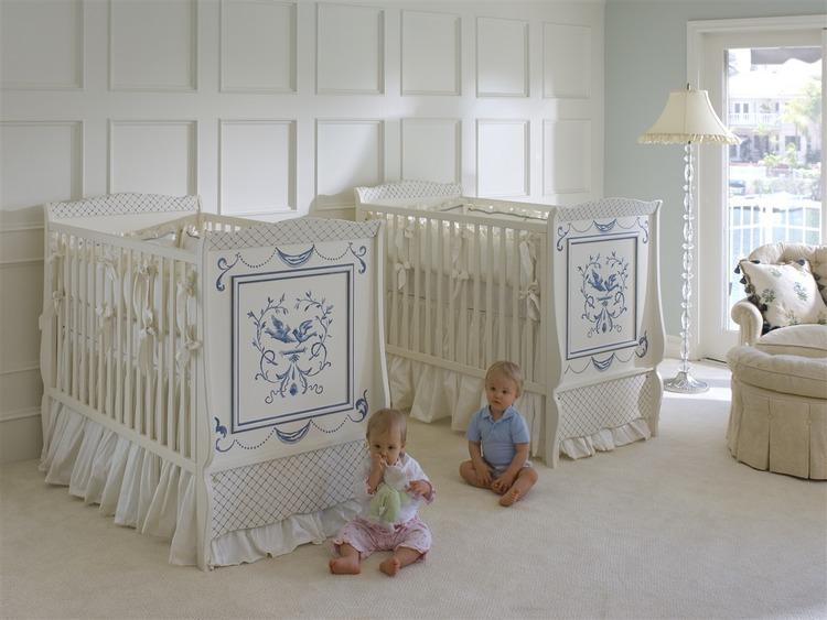 Twin039s Bluebird Crib Room