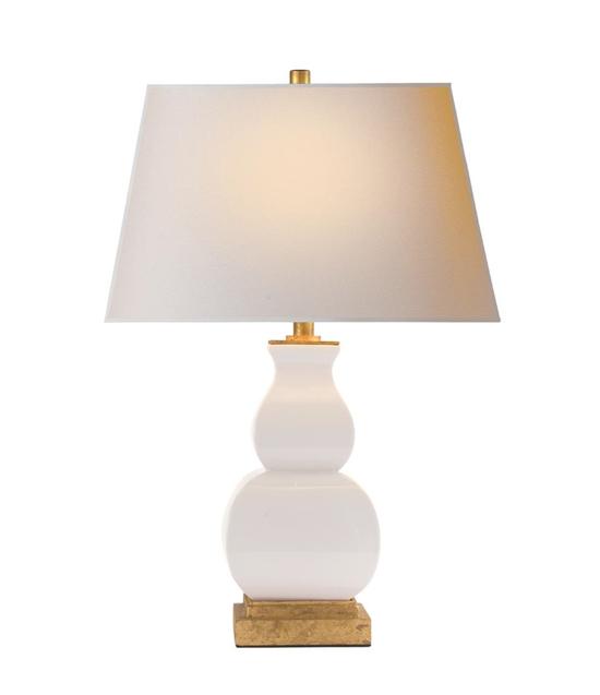 Chinoiserie Ivory Lamp