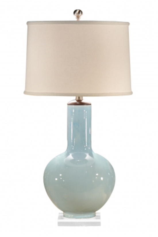 Caribbean Blue Lamp